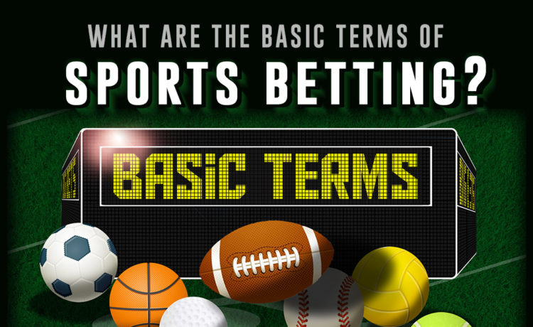 What are the basic terms of sports betting?
